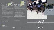 Roppe ESD Vinyl/Rubber Brochure