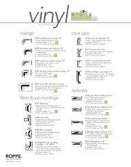 Vinyl Accessories (PDF)