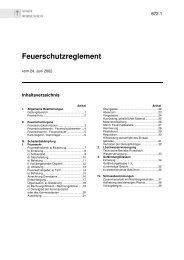 Feuerschutzreglement - Stadt Rorschach