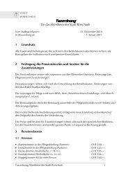 Taxordnung Taxordnung - Stadt Rorschach