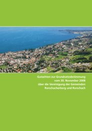 Gutachten zur Grundsatzabstimmung vom 30 ... - Stadt Rorschach