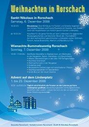 Weihnachten in Rorschach - Stadt Rorschach