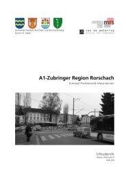 Konzept Flankierende Massnahmen - Stadt Rorschach
