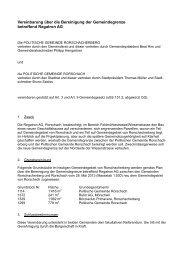 Vereinbarung über die Bereinigung der ... - Stadt Rorschach