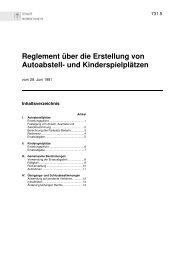 Reglement über die Erstellung von Autoabstell- und ... - Rorschach
