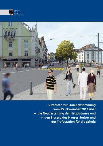 Gutachten zur Urnenabstimmung vom 25 ... - Stadt Rorschach