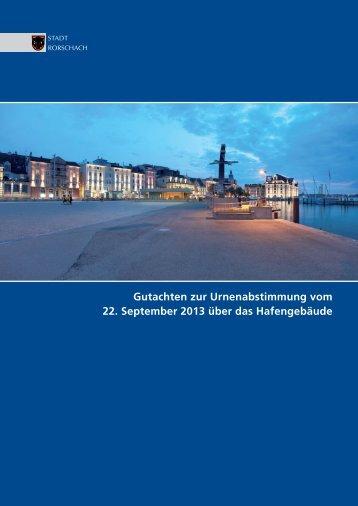 Gutachten zur Urnenabstimmung vom 22 ... - Stadt Rorschach