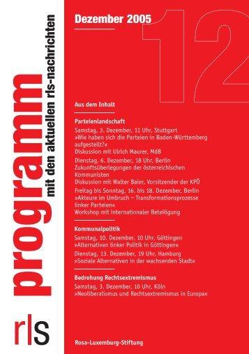 rls. dezember-D - Rosa-Luxemburg-Stiftung