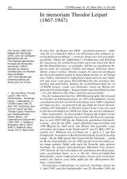 In memoriam Theodor Leipart - Rosa-Luxemburg-Stiftung