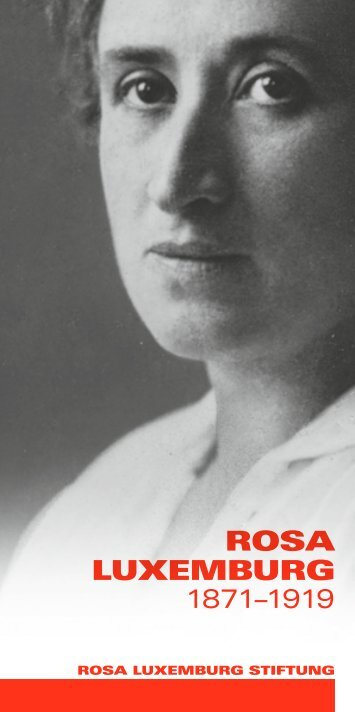 Flyer - Rosa-Luxemburg-Stiftung