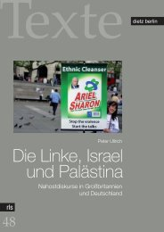 Die Linke, Israel und Palästina - Rosa-Luxemburg-Stiftung