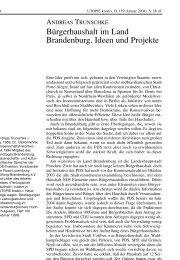 Bürgerhaushalt im Land Brandenburg. Ideen und Projekte - Rosa ...