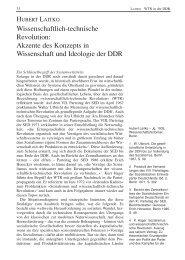Wissenschaftlich-technische Revolution: Akzente des Konzepts in ...