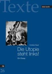 Die Utopie steht links! - eDoc