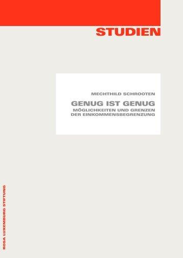 Studien - Rosa-Luxemburg-Stiftung