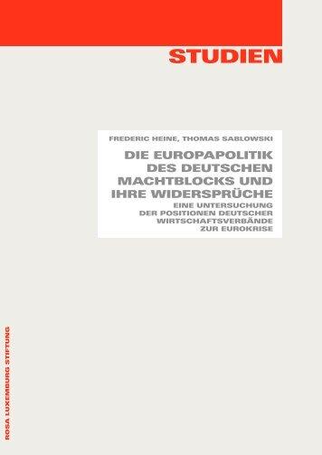 RLS Studien Europapolitik.pdf - Rosa-Luxemburg-Stiftung