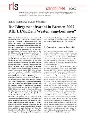 Standpunkte 4_2006_korr - Rosa-Luxemburg-Stiftung