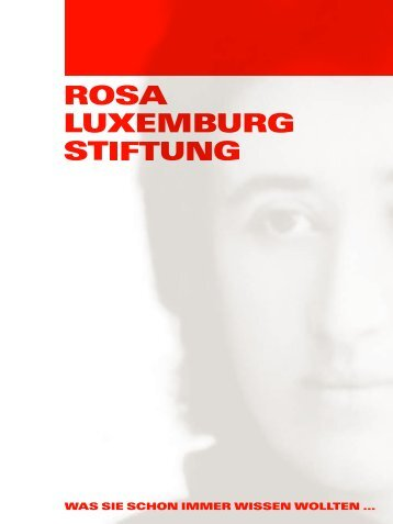 Präsentation - Rosa-Luxemburg-Stiftung