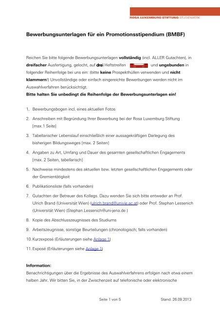 website_Bewerbungsunterlagen für ein Promotionsstipendium BMBF