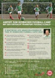Checkliste für Teilnehmer & Zeit- und Ablaufplan - Rosbacher
