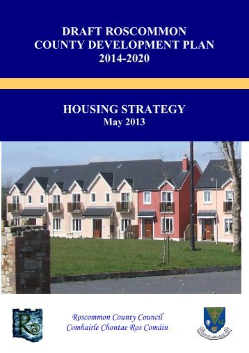 1 - Cover housing strat - Roscommon County Council