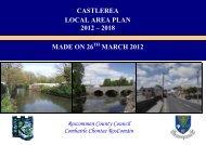 Castlerea LAP 2012-2018 - Roscommon County Council