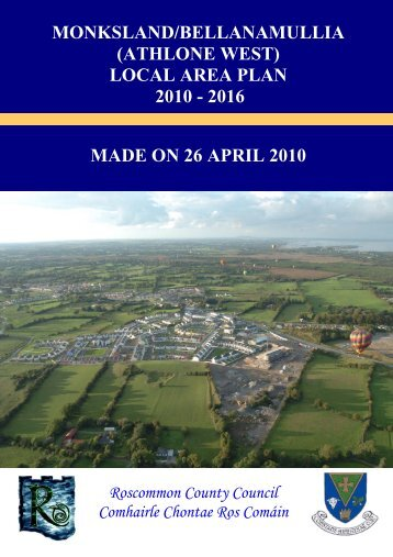 (athlone west) local area plan 2010 - 2016 - Roscommon County ...