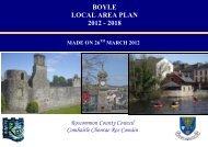 boyle local area plan 2012 - 2018 - Roscommon County Council