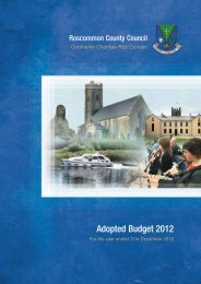 Annual Budget 2012 - Roscommon County Council