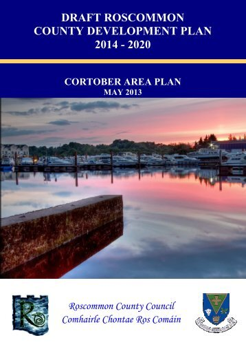 1 - Front cover of Draft Cortober _jetty_ - Roscommon County Council