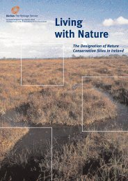 The Designation of Nature Conservation Sites in Ireland