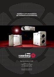 SupraBox Comfort - Kompaktlüftungsgeräte mit ... - Rosenberg