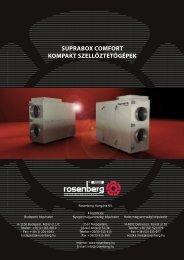 SUPRABOX COMFORT KOMPAKT ... - Rosenberg