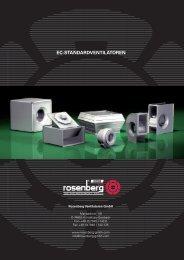 EC-STANDARDVENTILATOREN - Rosenberg