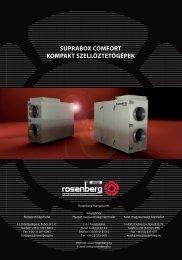 suprabox comfort kompakt szellőztetőgépek - Rosenberg
