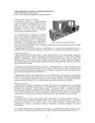 Légkezelőgép fejlesztése numerikus szimuláció ... - Rosenberg