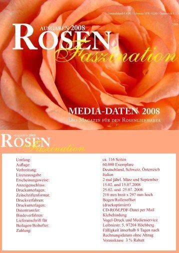 ausgaben 2008 - ROSEN-Faszination