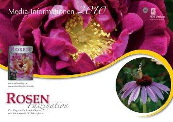 Media-Informationen 2010 - ROSEN-Faszination