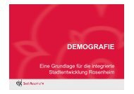 Demografie - Stadt Rosenheim