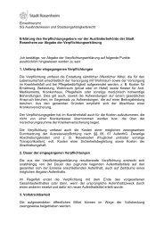 Erklärung zur Abgabe der Verpflichtungserklärung - Stadt Rosenheim