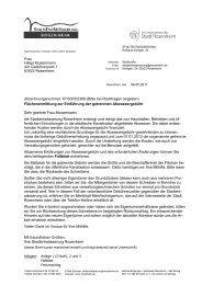 Muster Anschreiben - Stadt Rosenheim