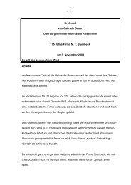 Grußwort von Gabriele Bauer ... - Stadt Rosenheim