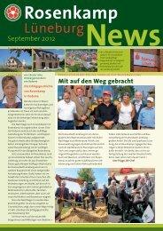 Die neuste Ausgabe von September 2012 hier zum - in Rosenkamp