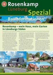 Bauinformationen für den zweiten Bauabschnitt ... - in Rosenkamp