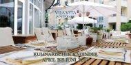 kulinarischer kalender april bis juni - VILA VITA Rosenpark