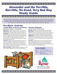Alexander and the Terrible, Horrible, No Good, Very Bad ... - The Rose