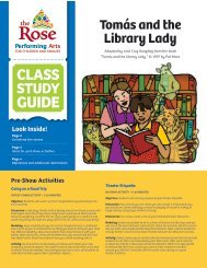 Tomas and the Library Lady - The Rose