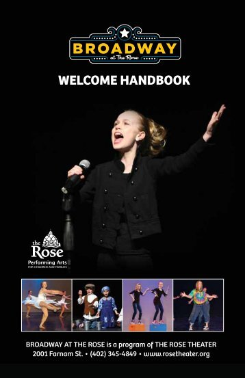 View our Welcome Handbook - The Rose