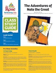 The Adventures of Nate the Great - The Rose
