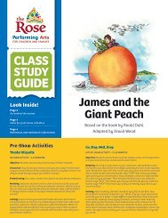 James and the Giant Peach - The Rose